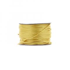 Κορδόνι φλος ποντικουρά κίτρινο 2mm/50m