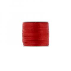 Κορδόνι φλος ποντικουρά κόκκινο 2mm/50m