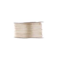 Κορδόνι φλος ποντικουρά μπεζ 2mm/50m