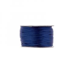 Κορδόνι φλος ποντικουρά μπλε 2mm/50m