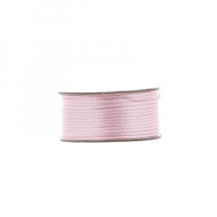 Κορδόνι φλος ποντικουρά ροζ 2mm/50m