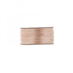 Κορδόνι φλος ποντικουρά σομόν 2mm/50m
