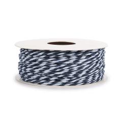 Κορδόνι χάρτινο δίχρωμο σιέλ μπλε 1-2mm50μ