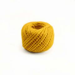 Κορδόνι λινάτσα 2mmX50m κίτρινο