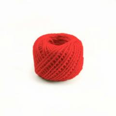 Κορδόνι λινάτσα 2mmX50m κόκκινο
