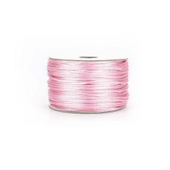 Κορδόνι σατέν ποντικοουρά ροζ 2mmX50m