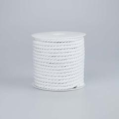 Κορδόνι βαμβακερό λευκό 5mmX20m