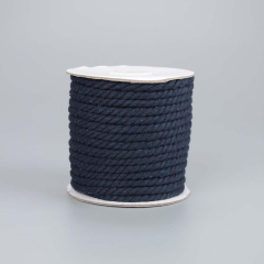 Κορδόνι βαμβακερό μπλε μαρίν 5mmX20m