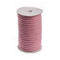 Κορδόνι βαμβακερό ροζ 8mmX20m