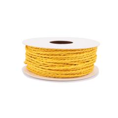 Κορδόνι χάρτινο κίτρινο 2mmX25m