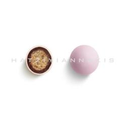 Κουφέτα σοκολάτας Crispy ροζ φράουλα 3kg