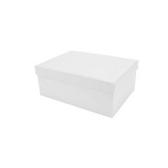 Κουτί χάρτινο λευκό 20x15x8εκ