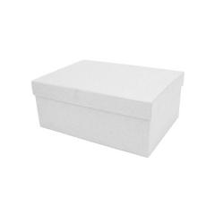 Κουτί χάρτινο λευκό 22x16x9εκ