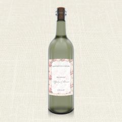 Ετικέτα Κρασιού MyMastoras Roses Border