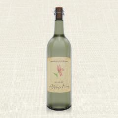Ετικέτα Κρασιού MyMastoras Postcard Lily