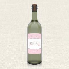 Ετικέτα Κρασιού MyMastoras Polka Dots Letter