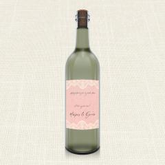 Ετικέτα Κρασιού MyMastoras Lace