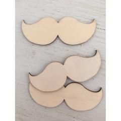 Ξύλινα μουστάκια ευχών