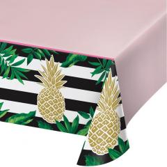 Τραπεζομάντηλο πλαστικό Pineapple 137x259εκ.