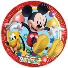 Σετ πιάτων φαγητού Playful Mickey 8τεμ.