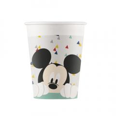 Ποτήρια χάρτινα Mickey Awesome Mouse 8τεμ.