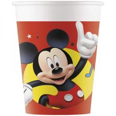 Ποτήρια χάρτινα Playful Mickey 8τεμ.