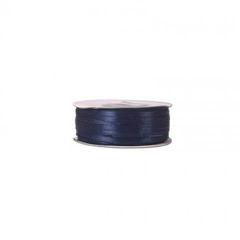 Κορδέλα σατέν διπλής όψης μπλε ρουά 3mm 100m