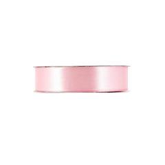 Κορδέλα σατέν μίας όψης ούγια ροζ απαλό 25mm