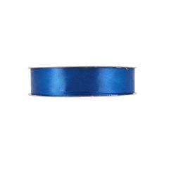 Κορδέλα σατέν ούγια μίας όψης μπλε ρουά 25mm