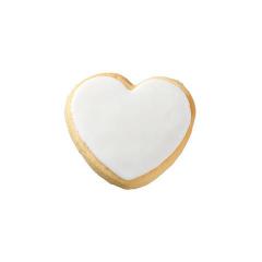 Μπισκότο γάμου καρδιά μεσαία