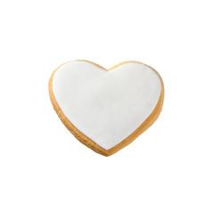 Μπισκότο γάμου καρδιά μεγάλη
