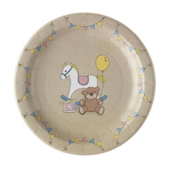 Χάρτινα πιάτα στρογγυλά Rock-A-Bye Baby
