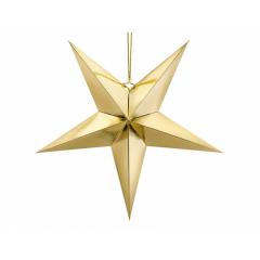 Χάρτινο χρυσό αστέρι 70εκ
