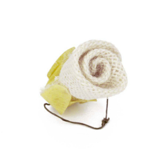 Λουλούδι λινάτσα λευκό 4εκ 2τεμ