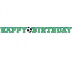 Γιρλάντα γράμματα Happy Birthday Ποδόσφαιρο 135εκ.