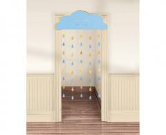 Κουρτίνα πόρτας συννεφάκι Baby Boy 98x192.7εκ.