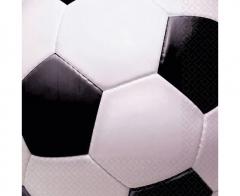 Χαρτοπετσέτες φαγητού 33εκ. σε θέμα ποδόσφαιρο 16τεμ.