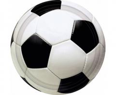 Χάρτινο πιάτο γλυκού μπάλα ποδοσφαίρου 8τεμ.