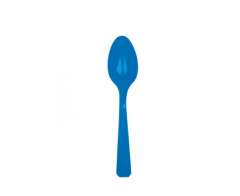 Πλαστικά κουτάλια μπλε 10τεμ
