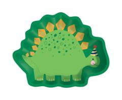 Πιάτα χάρτινα Dino-Mite 8τεμ.