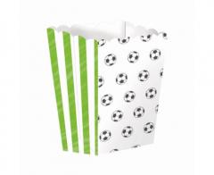 Κουτί pop corn σε θέμα ποδόσφαιρο 4τεμ.
