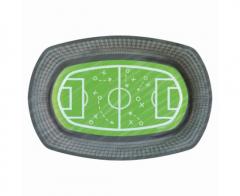 Χάρτινο πιάτο γήπεδο ποδοσφαίρου 6τεμ.