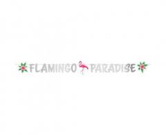 Γιρλάντα γράμματα Flamingo Paradise 135εκ.