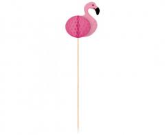 Διακοσμητικές οδοντογλυφίδες Flamingo Paradise 10τεμ.