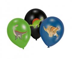 Μπαλόνια Happy Dinosaur 6τεμ. 27,5εκ.