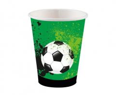 Χάρτινα ποτήρια Goal Getter 250ml 8τεμ.