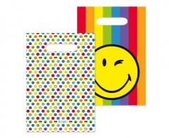 Τσάντες Δώρου χάρτινες Smileyworld 8τεμ.