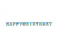 Γιρλάντα γράμματα Happy Birthday Baby Shark