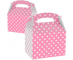 Party Box ροζ με καρδιές 5τεμ.