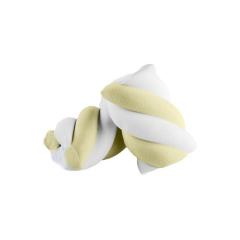Marshmallow πλεξίδα Λευκό Κίτρινα 1kg